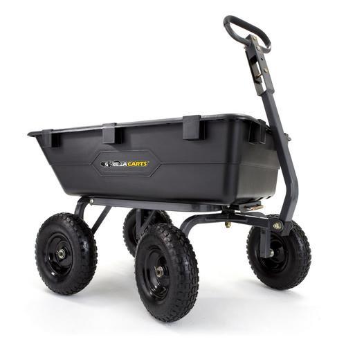 6 Cu Ft Poly Yard Cart