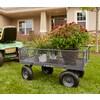 Gorilla Carts 6 Cu Ft Steel Yard Cart At Lowes Com