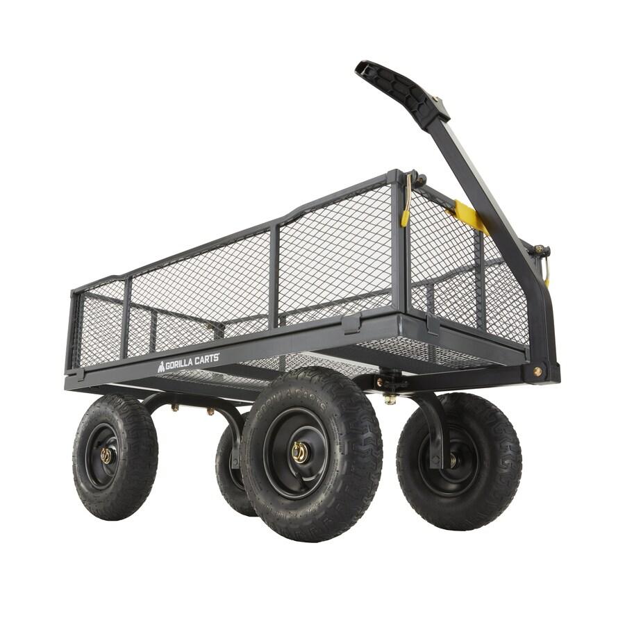 6,cu ft Steel Utility Cart