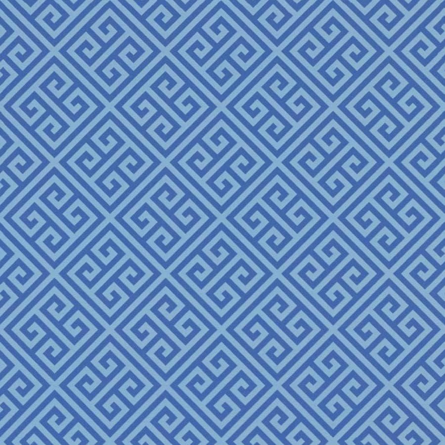 Formica Brand Laminate 48-in x 96-in Blue Greek Key Matte Laminate Kitchen Countertop Sheet