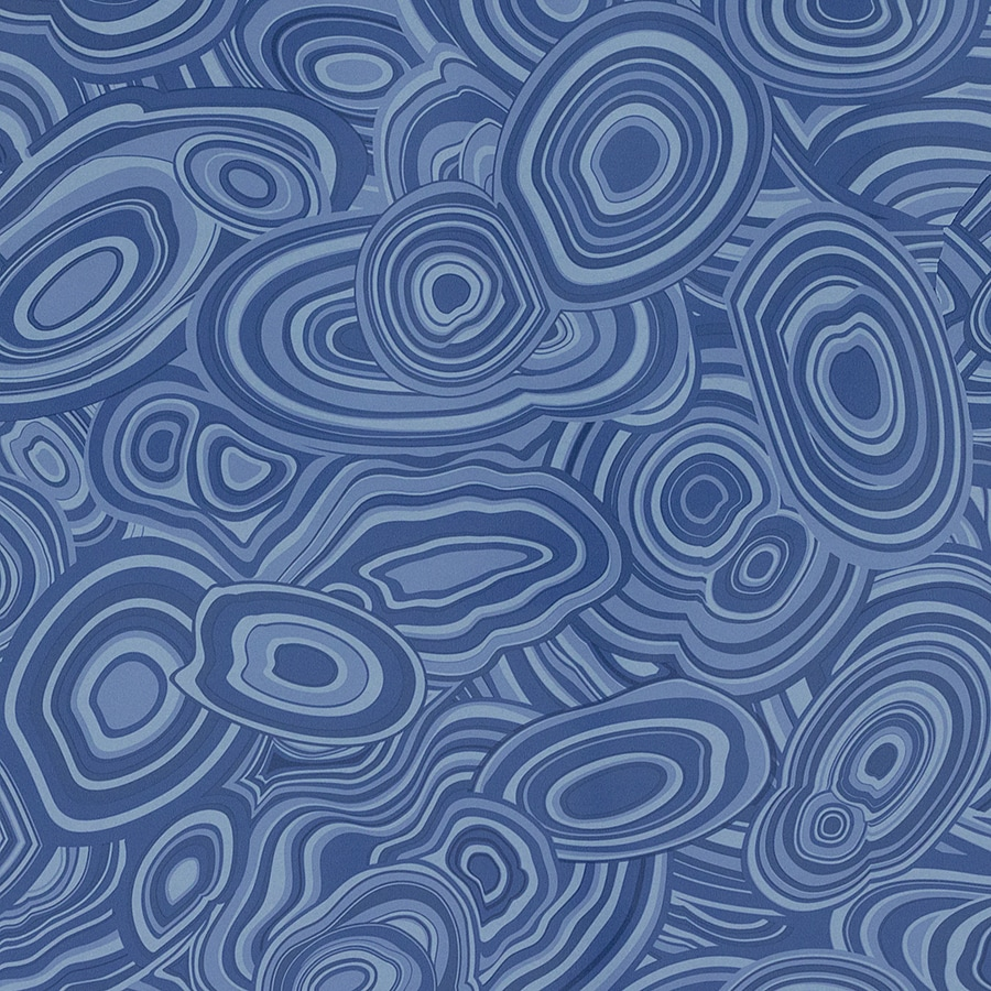 Formica Brand Laminate Patterns 48-in x 96-in Blue Malachite Gloss Laminate Kitchen Countertop Sheet