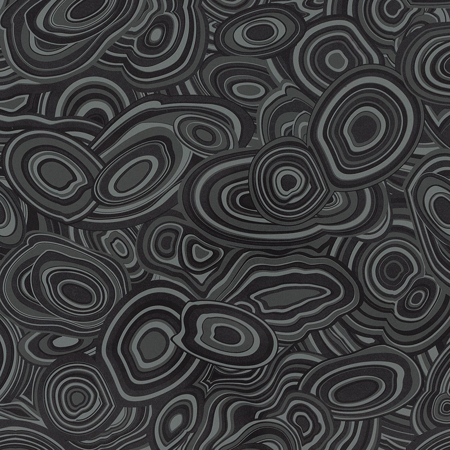 Formica Brand Laminate Patterns 30-in x 144-in Charcoal Malachite Gloss Laminate Kitchen Countertop Sheet