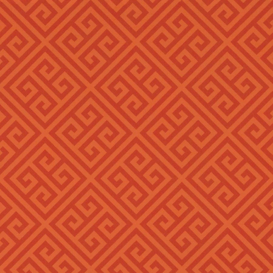 Formica Brand Laminate Patterns 30-in x 144-in Orange Greek Key Matte Laminate Kitchen Countertop Sheet