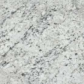 Formica Brand Laminate Patterns 48 In X 96 In White Ice Granite Matte Laminate