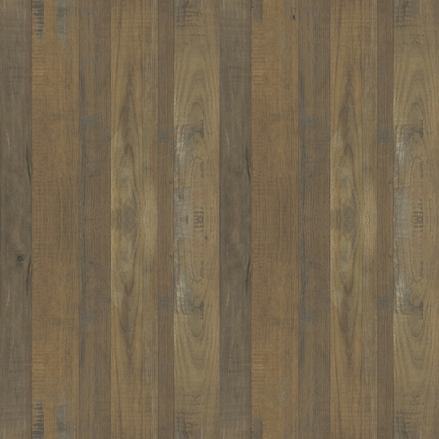Formica Brand Laminate Woodgrain 48-in x 96-in Salvage Planked Elm Matte Laminate Kitchen Countertop Sheet