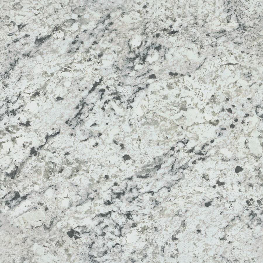 Formica Brand Laminate Patterns 48-in x 96-in White Ice Granite Artisan Laminate Kitchen Countertop Sheet