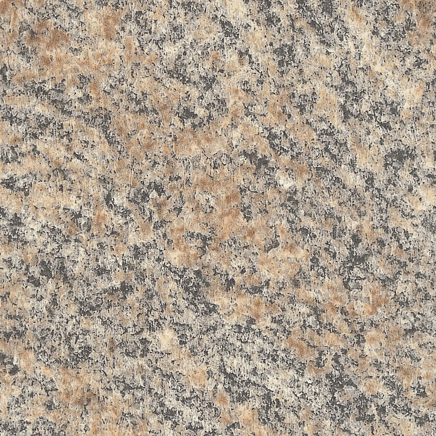 Formica Brand Laminate Patterns 30-in x 120-in Brazilian Brown Granite Matte Laminate Kitchen Countertop Sheet