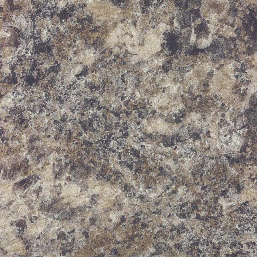 Formica Brand Laminate Patterns 30-in x 120-in Perlato Granite Matte Laminate Kitchen Countertop Sheet