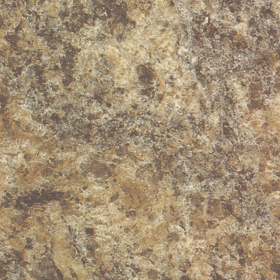 Formica Brand Laminate Patterns 30-in x 144-in Giallo Granite Matte Laminate Kitchen Countertop Sheet