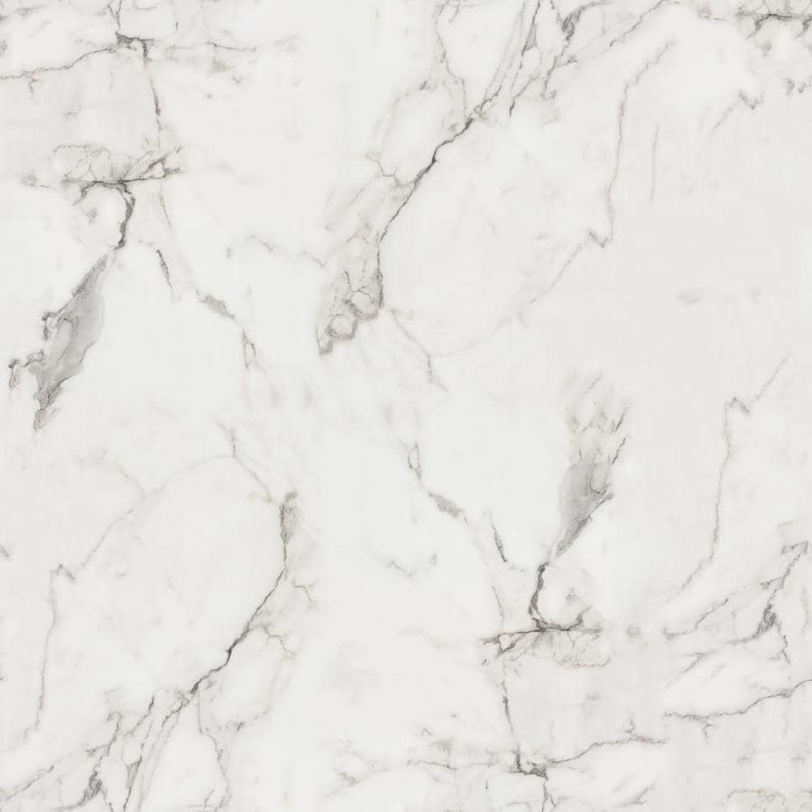 Formica Brand Laminate 180fx; 30-in x 96-in Calcatta Marble Etchings Laminate Kitchen Countertop Sheet