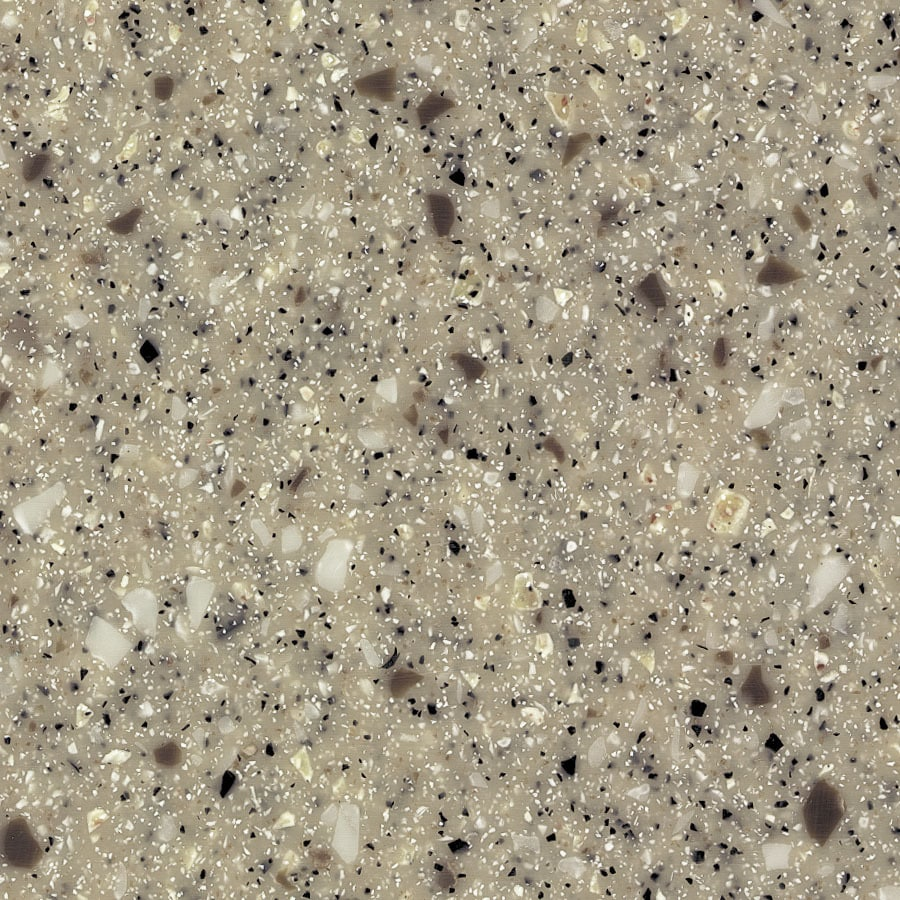 Formica Solid Surfacing River Rock Mosaic Surface Kitchen Countertop Sample