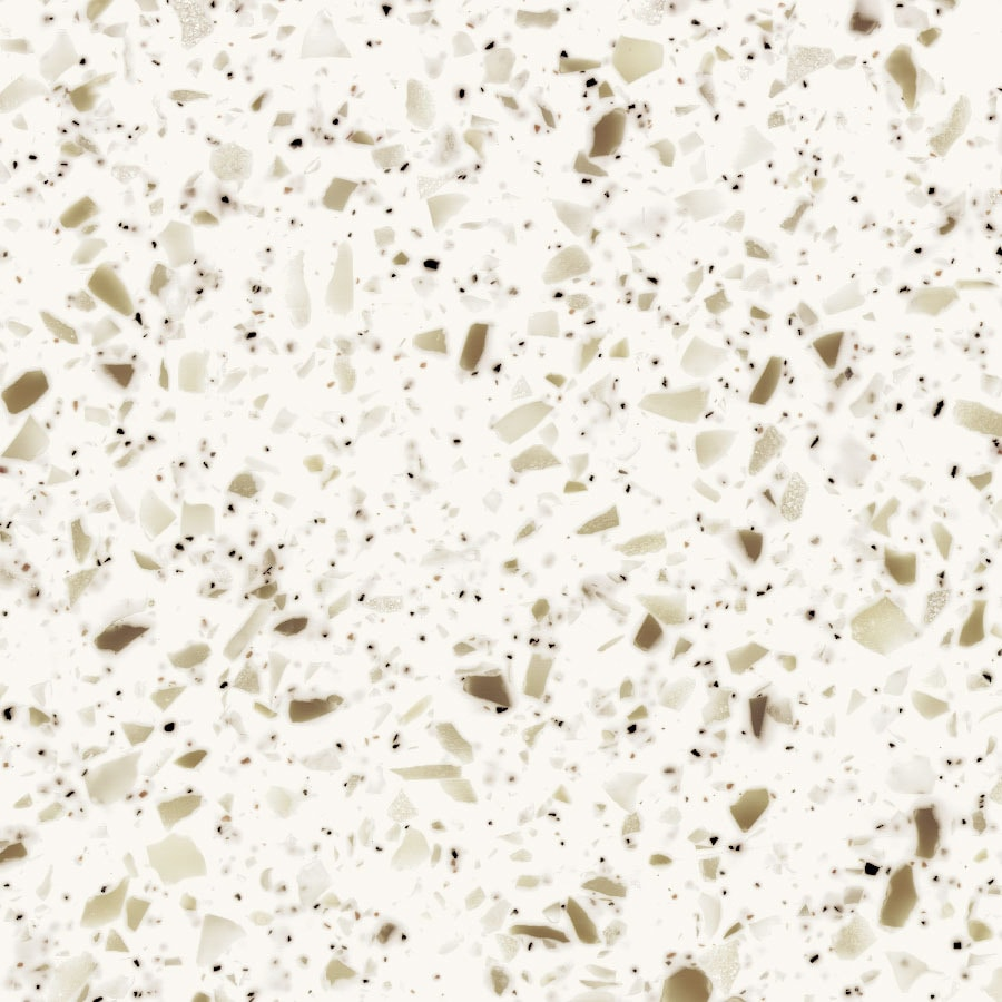 Shop Formica Solid Surfacing Blanco Terrazzo Solid Surface