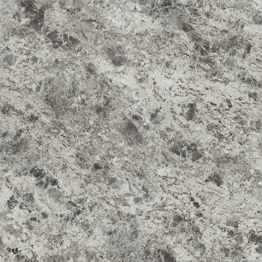Formica Brand Laminate 180fx; 30-in x 144-in Silver Flower Granite Artisan Laminate Kitchen Countertop Sheet