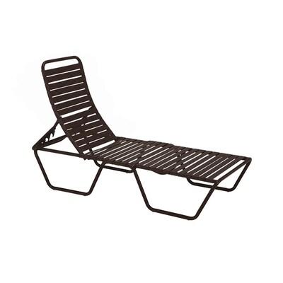 Pleasing Sun Isle Parker Stackable Metal Stationary Chaise Lounge Creativecarmelina Interior Chair Design Creativecarmelinacom