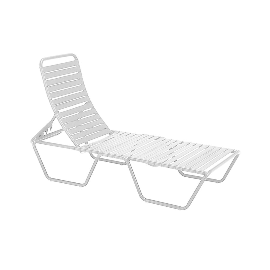 Sun Isle Parker Stackable Aluminum Chaise Lounge Chair