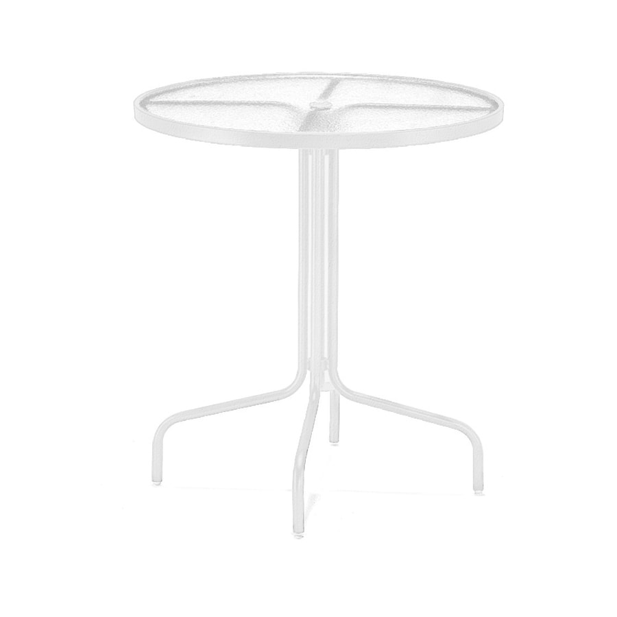 Sun Isle 36-in W x 36-in L Round Aluminum Bar Table