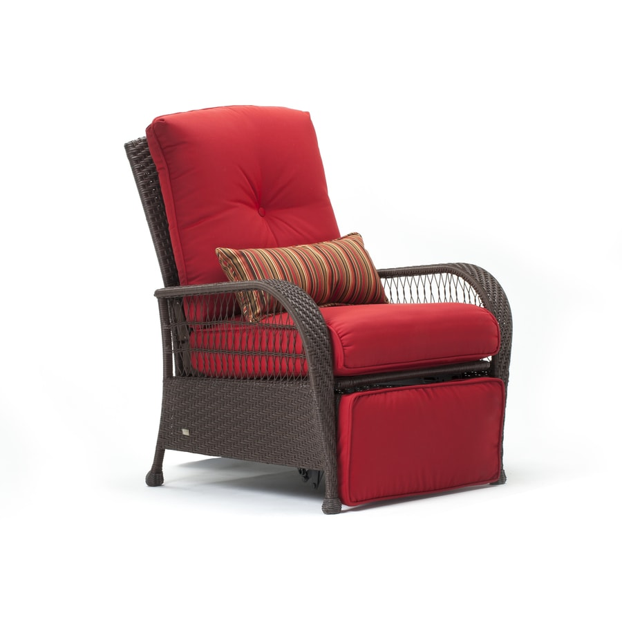 La-Z-Boy Outdoor Bristol Brown Synthetic Recliner