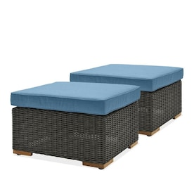 Fine Outdoor Ottomans Foot Stools At Lowes Com Dailytribune Chair Design For Home Dailytribuneorg