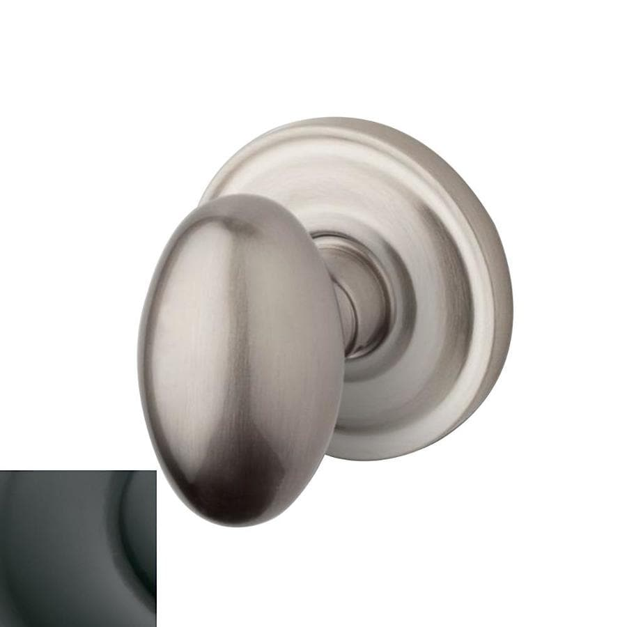 Shop Baldwin Estate Egg Oil Rubbed Bronze Egg Push Button Lock Privacy Door Knob At