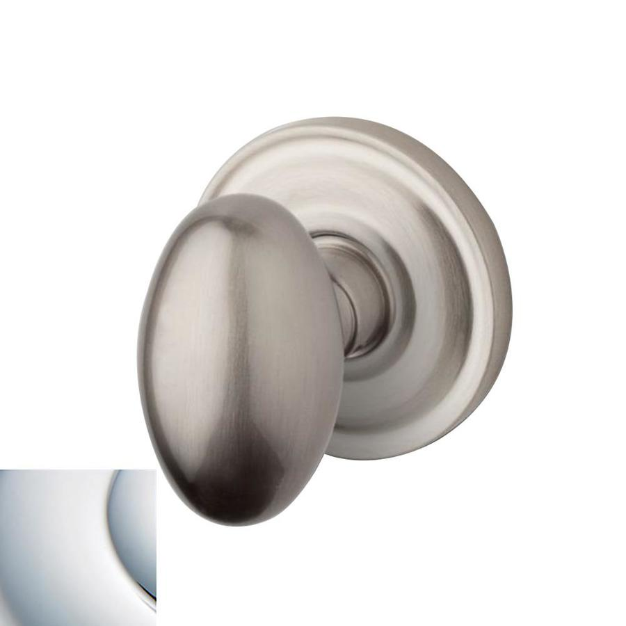 Shop BALDWIN Estate Egg Polished Chrome Egg Push ButtonLock