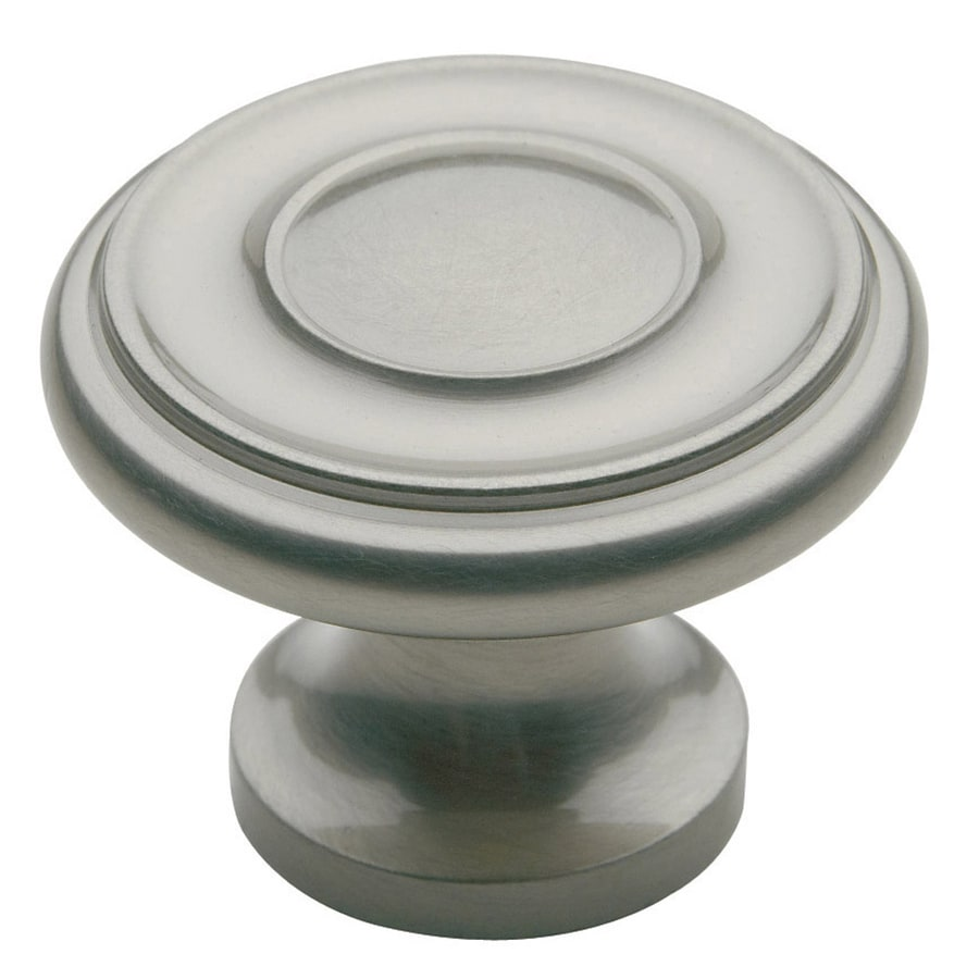 BALDWIN Estate Satin Nickel Round Cabinet Knob