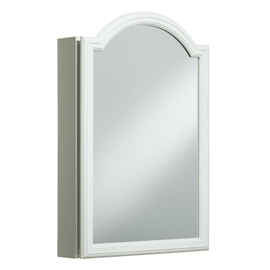 KOHLER Devonshire 20-in x 29.5-in Rectangle Surface/Recessed Mirrored Aluminum Medicine Cabinet