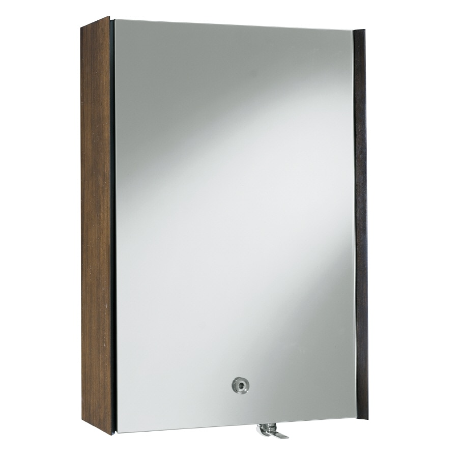 KOHLER Purist 24 In X 36 In Aluminum Metal Surface Mount Medicine Cabinet