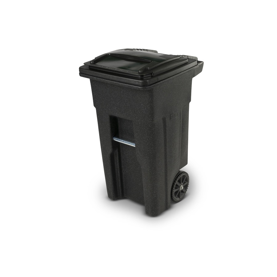 Toter 32-Gallon Blackstone Recycling Bin with Lid