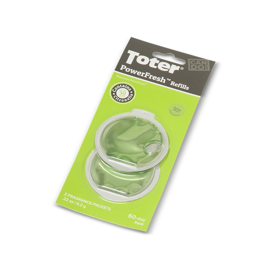 Toter Powerfresh 2-Pack Fresh Citrus Liquid Air Freshener Refills