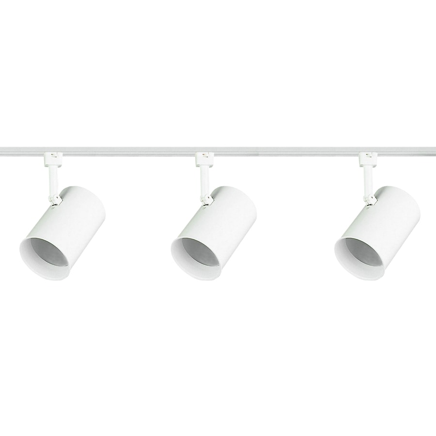 Royal Pacific 3-Light 48-in White Flat Back Linear Track Lighting Kit