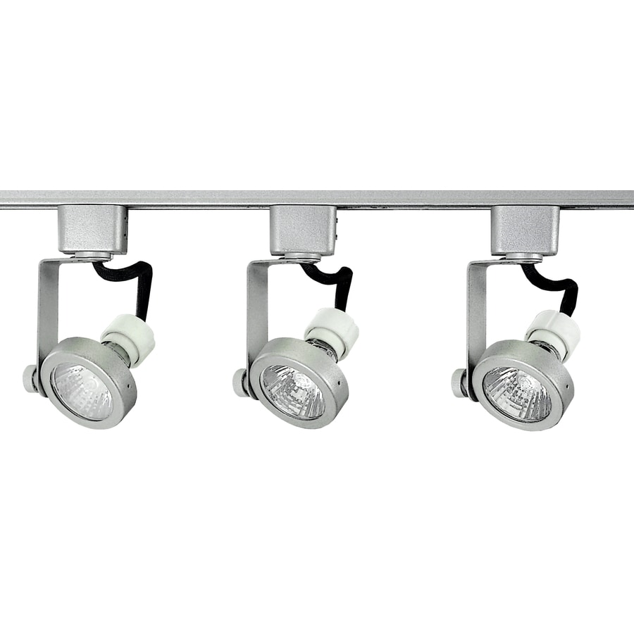 Royal Pacific 3-Light 48-in Brushed Aluminum Gimbal Linear Track Lighting Kit