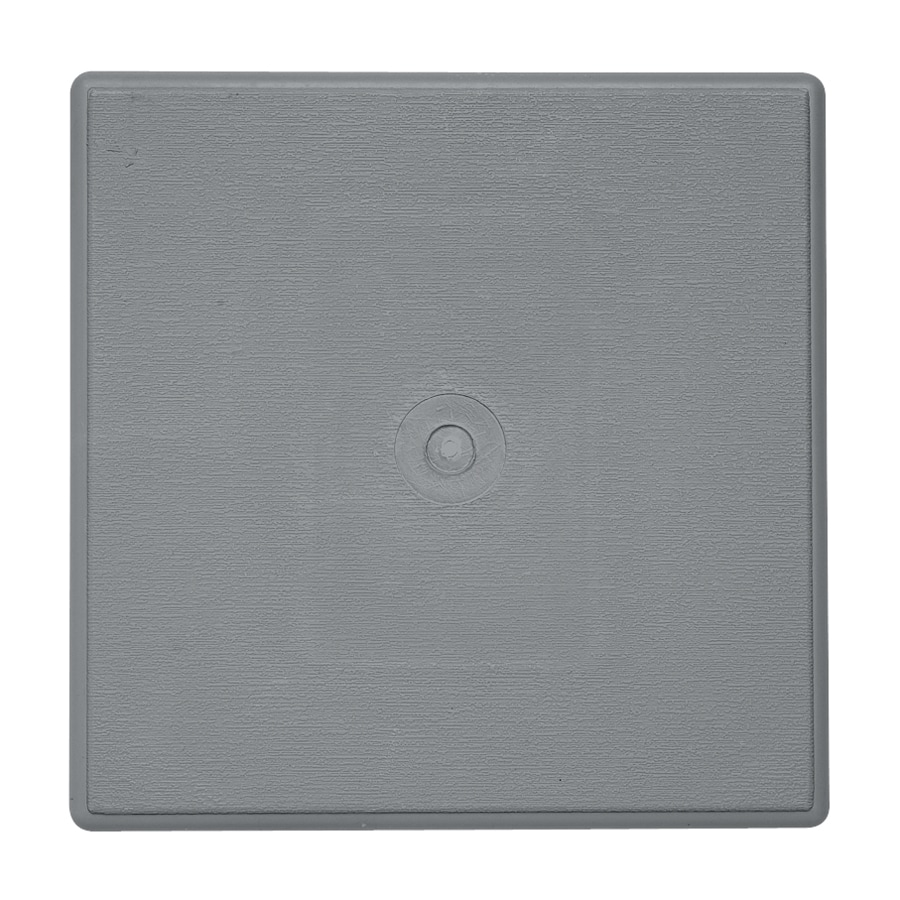 Durabuilt 6.625-in x 6.625-in Wedgewood/Pebble Vinyl Universal Mounting Block