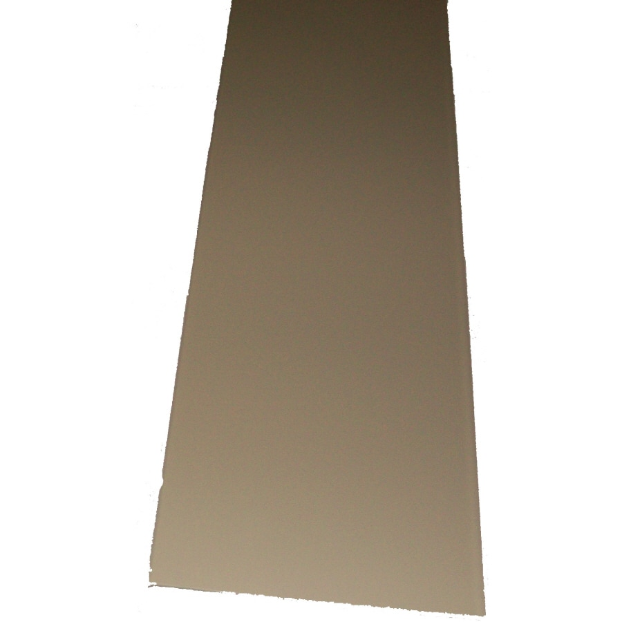 6-in x 12.1-ft Pebble Clay Smooth Fascia