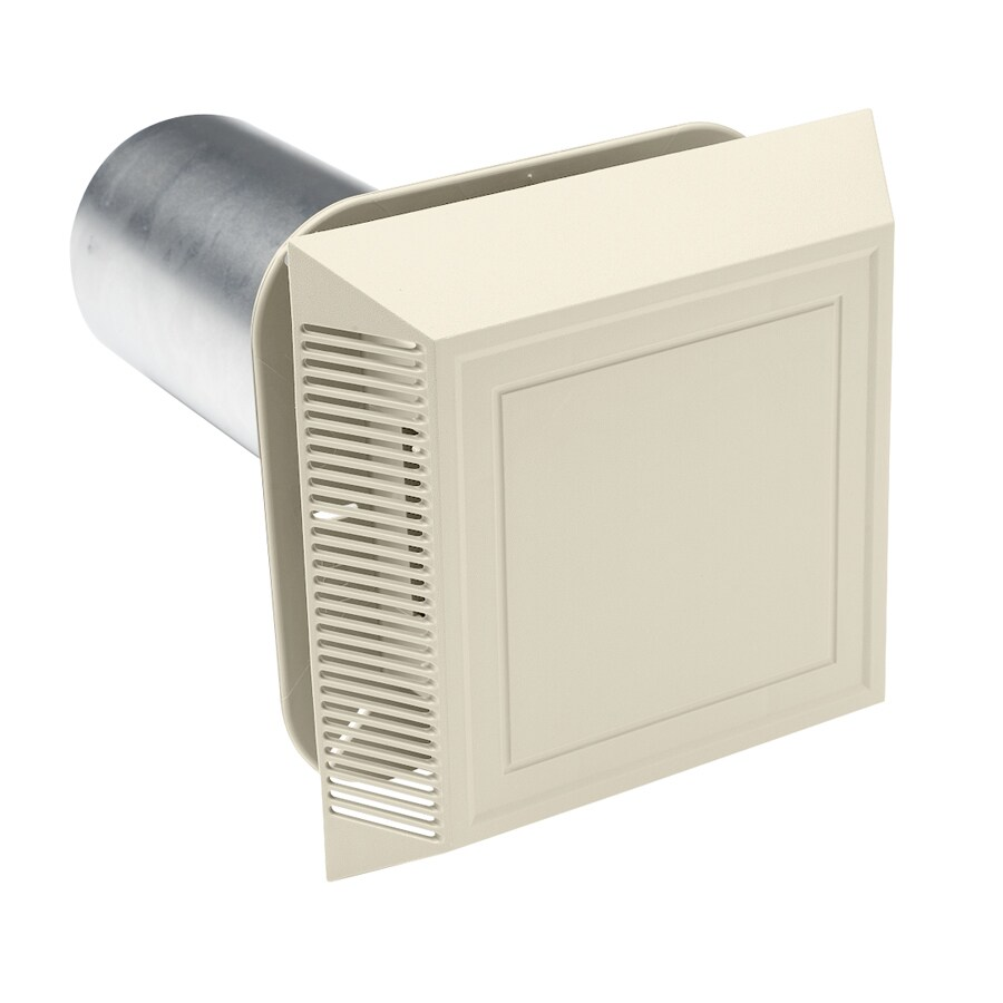 8-in L Cream Plastic Soffit Vent