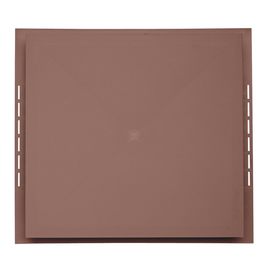 Durabuilt 18.5-in x 16.75-in Sedona Red/Pebble Vinyl Electrical Mounting Block