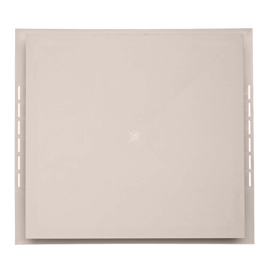 Durabuilt 18.5-in x 16.75-in Beige/Pebble Vinyl Electrical Mounting Block