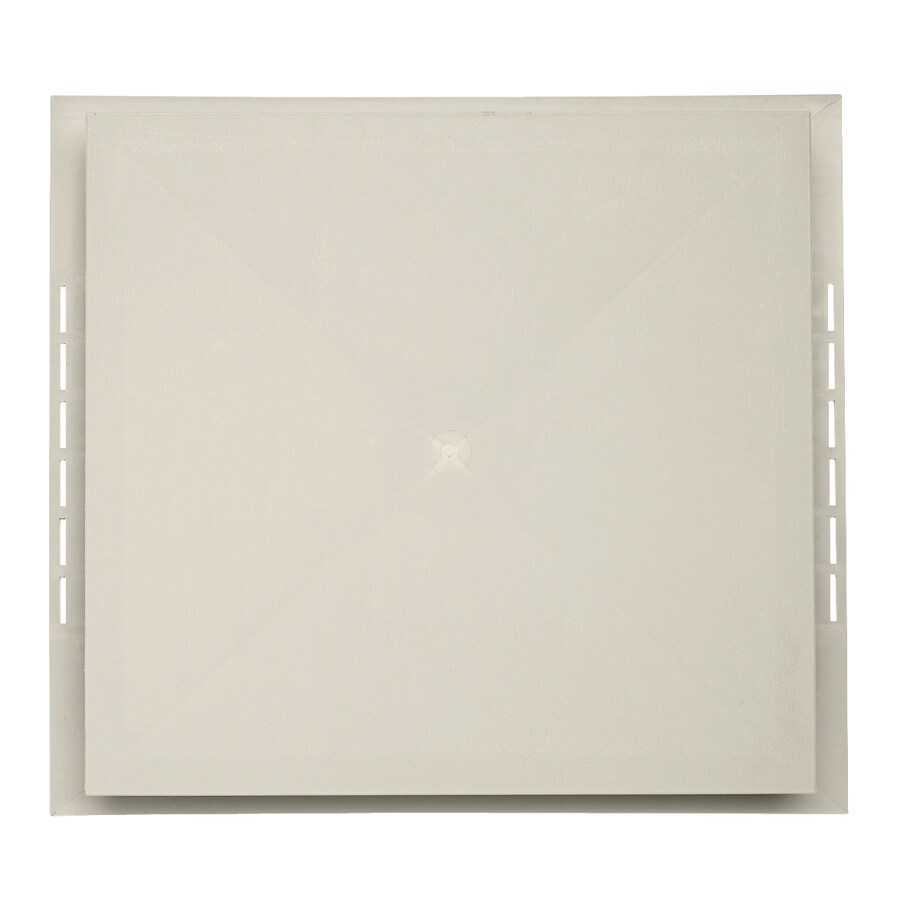 Durabuilt 18.5-in x 16.75-in Almond/Pebble Vinyl Electrical Mounting Block
