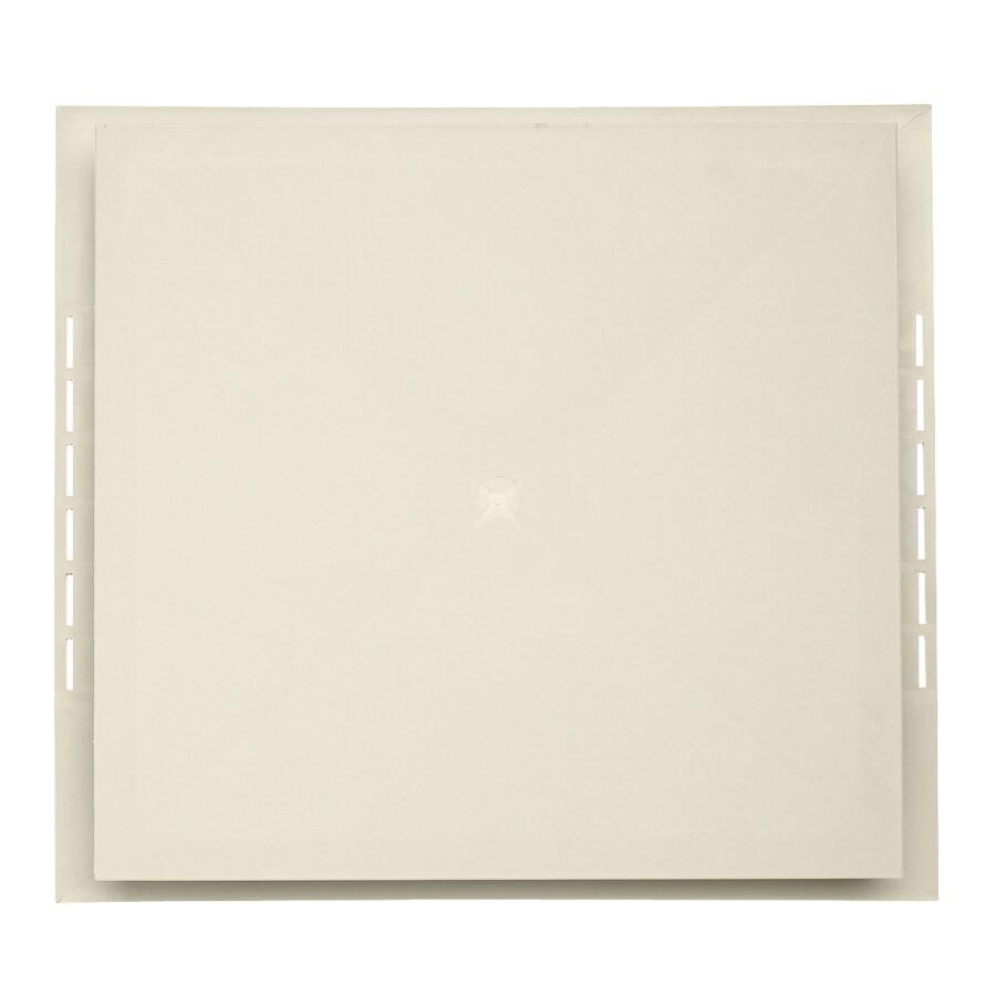 Durabuilt 18.5-in x 16.75-in Cream/Pebble Vinyl Electrical Mounting Block