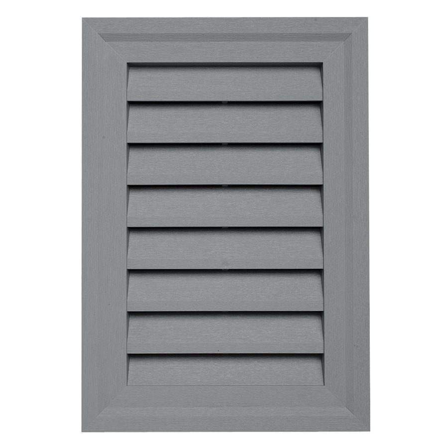Durabuilt 14-in x 20-in Wedgwood/Pebble Rectangle Plastic Gable Vent