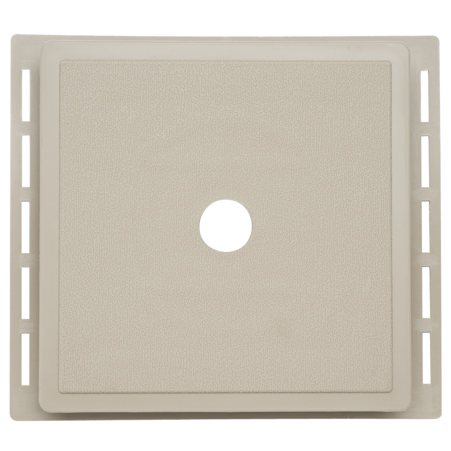 7-in x 7-in Clay Vinyl Universal Mounting Block