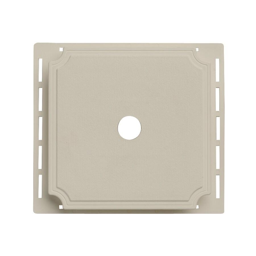 7-in x 7-in Clay Vinyl Universal Mounting Block