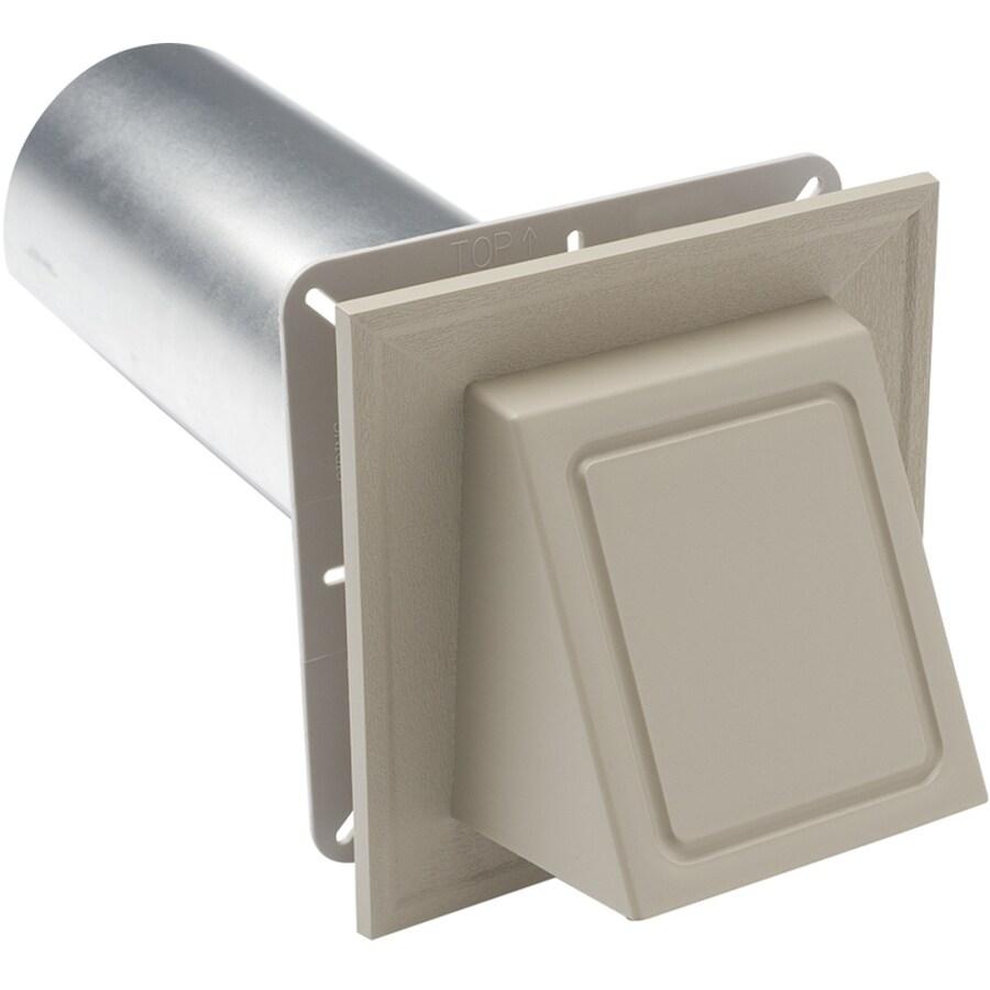 Durabuilt 4-in dia Plastic Preferred Dryer Vent Hood