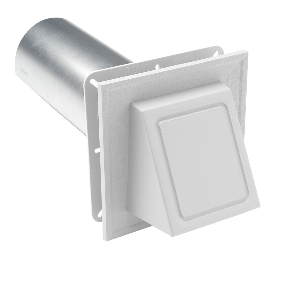 Durabuilt 4-in dia Plastic Preferred Dryer Vent Hood