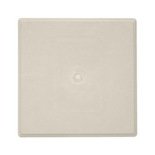 Ply Gem 6 In X 6 In Almond Vinyl Universal Mounting Block