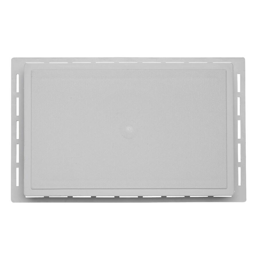 Durabuilt 1.625-in x 7.75-in Gray/Pebble Vinyl Universal Mounting Block