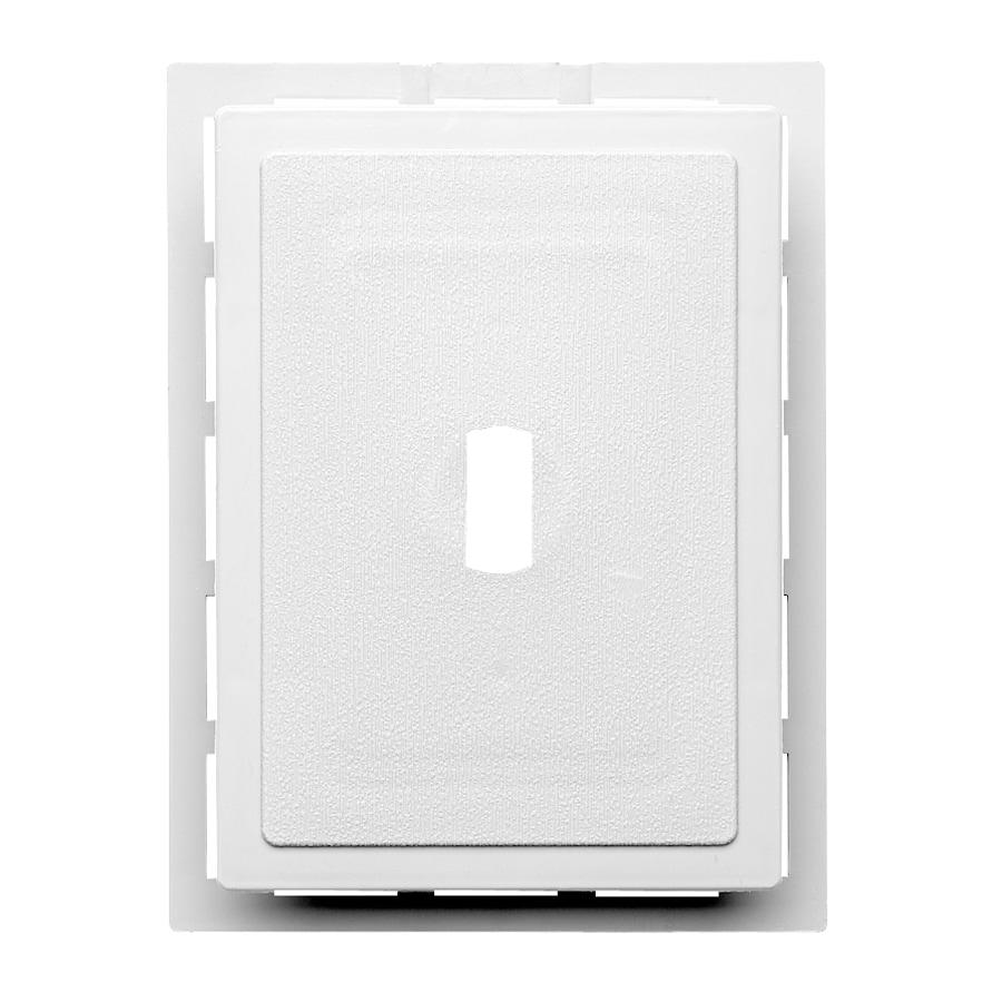 Durabuilt 5.25-in x 6.875-in White Vinyl Universal Mounting Block