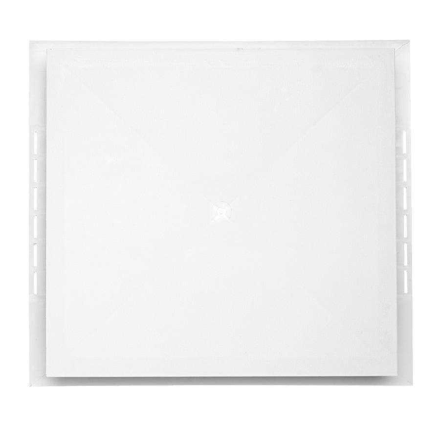Durabuilt 17.125-in x 19.25-in White Vinyl Universal Mounting Block