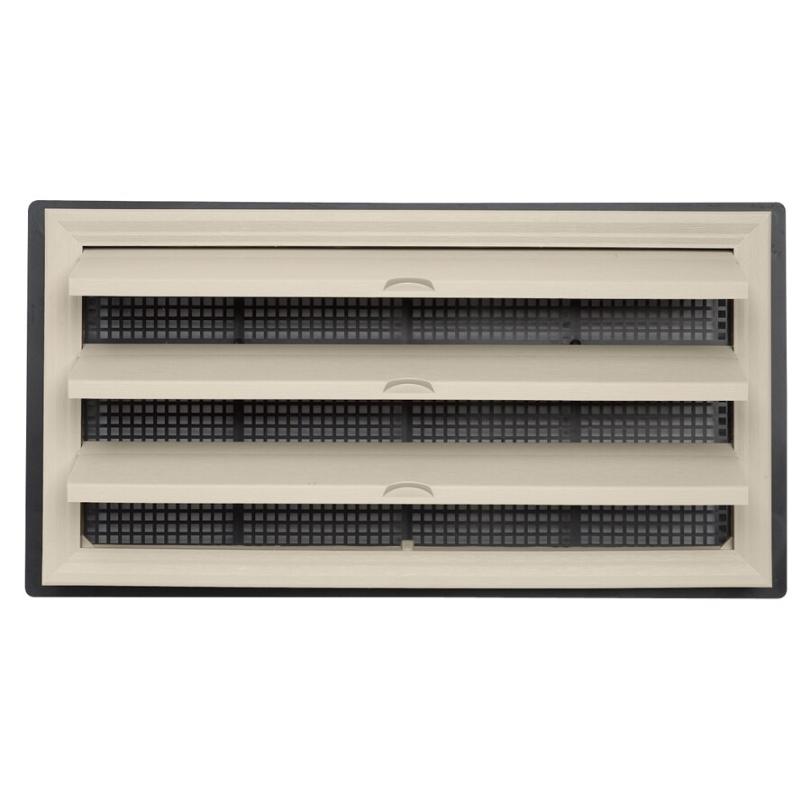 Durabuilt 9.5-in x 18.25-in Plastic Foundation Vent
