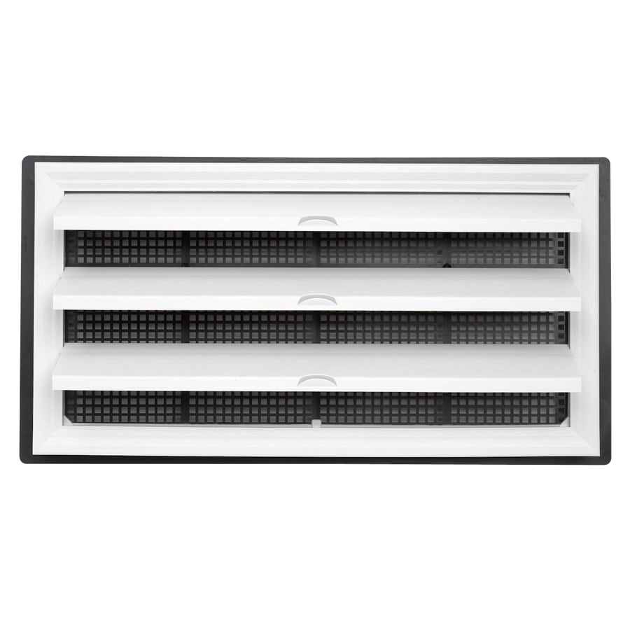 Shop Durabuilt 9 5 In X 18 25 In Plastic Foundation Vent