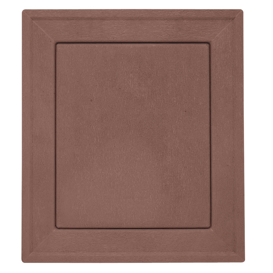 Durabuilt 7.875-in x 8.9375-in Sedona Red/Pebble Vinyl Universal Mounting Block